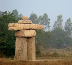 inuksuk à Auroville