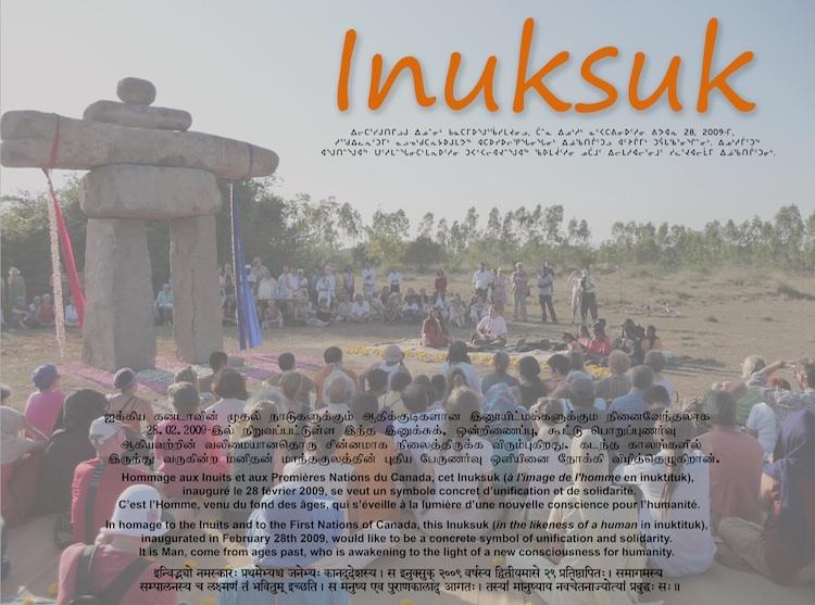 plaque2 de l'Inuksuk
