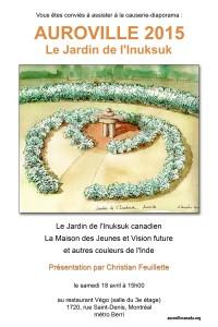 Affiche pour Auroville