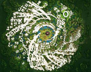 Auroville en Inde