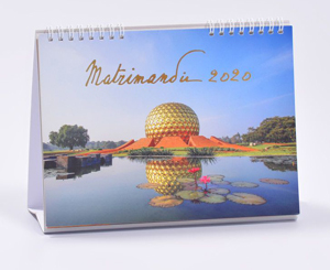 Calendrier Auroville 2020